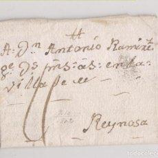 Sellos: PREFILATELIA. CARTA ENTERA. SAN MIGUEL DE VILLADIEGO, BURGOS, A REINOSA, CANTABRIA. 1802. Lote 227924430