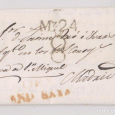 Francobolli: PREFILATELIA. CARTA ENTERA. ÓRGIVA, GRANADA. 1828. MUY RARA. Lote 229665995