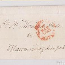 Sellos: PREFILATELIA. CARTA ENTERA. SEGOVIA A MARTÍN MUÑOZ DE LAS POSADAS. 1853. Lote 229666285