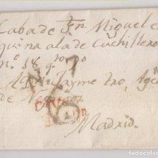 Sellos: PREFILATELIA. CARTA ENTERA. VALLADOLID, 1823. Lote 231662395