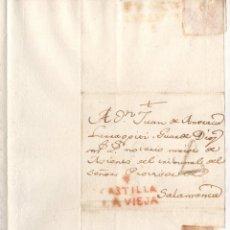 Francobolli: SOBRE PREFILATELIA TORO, ZAMORA A SALAMANCA. C. 1810. Lote 236099895