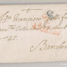 Sellos: PREFILATELIA. CARTA ENTERA. ZARAGOZA A BARCELONA. 1841. Lote 236452335