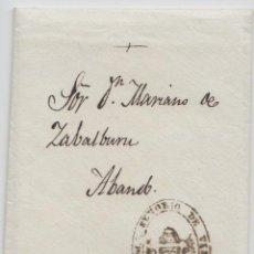 Sellos: FRANQUICIA DIPUTACION DE BILBAO - 1862. Lote 238871720