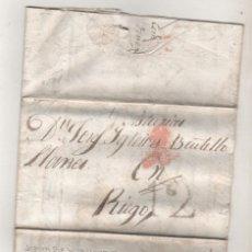 Sellos: PREFILATELIA DE SEVILLA A ASTURIAS 1837. Lote 239673465