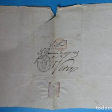 Selos: CARTA PREFILATÉLICA. PAMPLONA, VERA, NAVARRA. 1846.. Lote 243404885