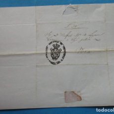Selos: CARTA PREFILATÉLICA. VERA, NAVARRA. SIN FECHA. CIRCA 1840.. Lote 243618325