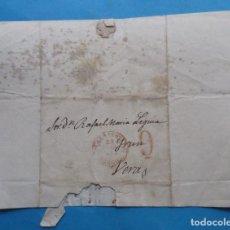 Sellos: CARTA PREFILATÉLICA. 1849. VERA, NAVARRA, ZARAGOZA, ARAGÓN.. Lote 243798305