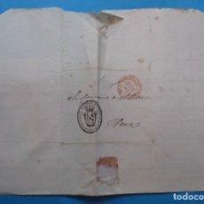 Selos: CARTA PREFILATÉLICA. 1846. VERA, PAMPLONA, NAVARRA.. Lote 243801150
