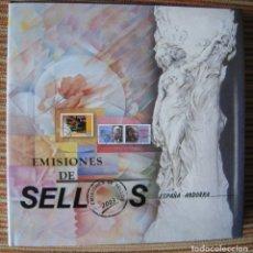 Sellos: SELLOS DE ESPAÑA Y ANDORRA 2.003 - FILATELIA CORREOS. Lote 248427910