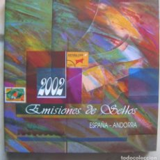 Sellos: SELLOS DE ESPAÑA Y ANDORRA 2.002 - FILATELIA CORREOS. Lote 248428150