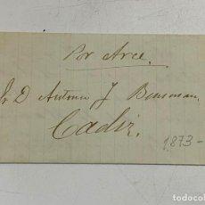 Sellos: 1873. COSARIO POR ARCE. VER. Lote 258879195