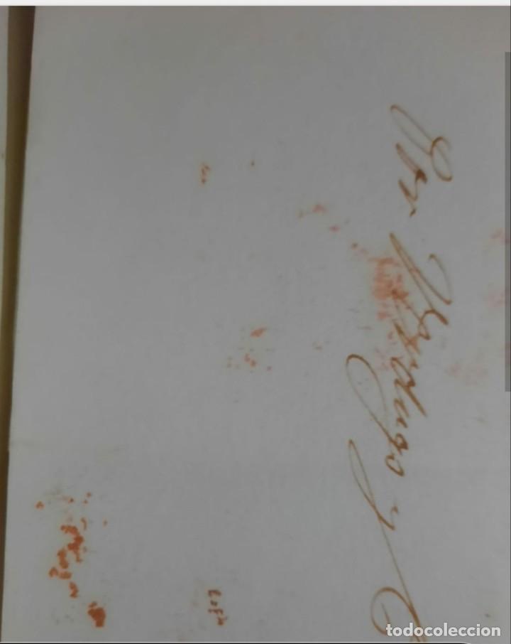 Sellos: España.Cosarios.Prefilatelia. Carta (fecha y año) de Cádiz(supongo) a Jerez de la Frontera, con marc - Foto 2 - 261146340