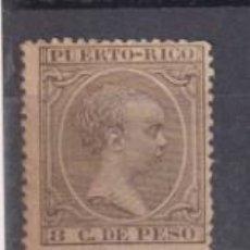 Sellos: PUERTO RICO 1894. ALFONSO XIII. EDIFIL 112 *. Lote 262683265