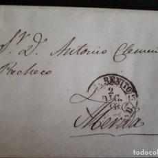 Sellos: PREFILATELIA.1849. CARTA MERIDA -SAN BENITO.. Lote 271390688