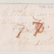 Francobolli: PREFILATELIA. ENVUELTA. A SAN FELIPE DE XÁTIVA, JÁTIVA, VALENCIA. 1814. PORTEO RECTIFICADO. Lote 273959573