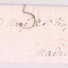 Sellos: PREFILATELIA. CARTA ENTERA DEL MARQUÉS DE VADILLO. SORIA, 1802. Lote 277536218