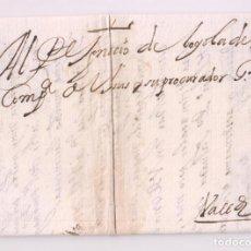 Sellos: PREFILATELIA. CARTA ENTERA. SALAMANCA 1661. A IGNACIO DE LOYOLA, PROC. GRAL. JESUITAS DE VALLADOLID. Lote 277537153
