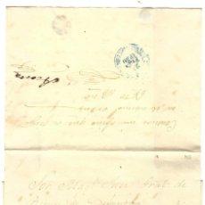 Sellos: 1850 CARTA ENVUELTA PREFILATELIA CUBA. FECHADOR AZUL CARDENAS. PLICA. Lote 278284678