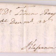 Francobolli: PREFILATELIA. CARTA ENTERA. CERVERA, LLEIDA. LÉRIDA. 1767. A VILAFRANCA DEL PENEDÉS, BARCELONA. Lote 282978128