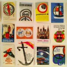 Selos: LOTE DE 18 VIÑETAS CONMEMORATIVAS DE CELEBRACIONES Y EVENTOS ESPAÑOLES. Lote 286736083