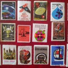 Selos: LOTE DE 18 VIÑETAS CONMEMORATIVAS DE CELEBRACIONES Y EVENTOS ESPAÑOLES. Lote 286736178