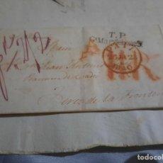 Sellos: CARTA .LONDRES - JEREZ DE LA FRONTERA.CADIZ.1840.. Lote 289421943
