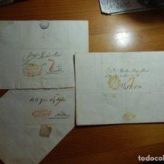 Sellos: CARTAS PRE-FILATELICAS 1835(2)-1844.MARCAS VALENCIA-ALCIRA-CULLERA,PORTEOS Nº7.. Lote 289474943