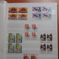 Sellos: GRAN LOTE. BLOQUES DE 4. NUEVOS. TODAS LAS FOTOS. GANGA.. Lote 294029068