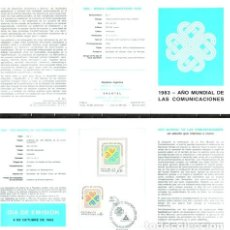 Sellos: ARGENTINA 1431 GJ 2125 CON VOLANTE 1ER DIA MINT ED. 125. Lote 294274788