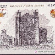 Sellos: ESPAÑA EDIFIL PL 27*** - AÑO 1992 - EXPOSICION FILATÉLICA NACIONAL - VALLADOLID. Lote 24885717