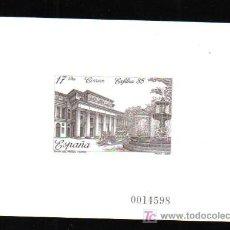 Sellos: PRUEBA EN NEGRO EXFILNA 85 MUSEO DEL PRADO MADRID. Lote 26992142