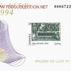 Sellos: PRUEBA OFICIAL * DIA DEL SELLO 1994 *. Lote 27129809