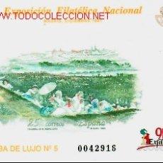 Stamps - PRUEBA OFICIAL * EXPO. FILATELICA NACIONAL EXFILNA´91. MADRID * - 13808050