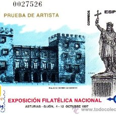 Stamps - Prueba Nº 64 Exfilna 97 Gijón - 26264764