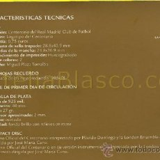 Stamps - 1902-2002 CARNET Centenario del Real Madrid - 22098295