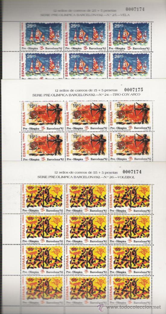 PLIEGO DE LA SERIE Nº 3157/3159 (Sellos - España - Pruebas y Minipliegos)