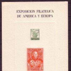 Sellos: ESPAÑA HR 53 - AÑO 1977 - EXPOSICION FILATELICA DE AMERICA Y EUROPA ESPAMER 77. Lote 19169645