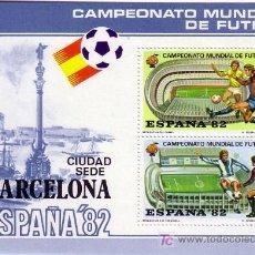 Sellos: CAMPEONATO MUNDIAL DE FUTBOL-BARCELONA CIUDAD SEDE-ESPAÑA 82. Lote 26152266