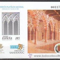 Sellos: ESPAÑA EDIFIL Nº 68, EXFILNA 1999 (ZARAGOZA), PRUEBA DE LUJO. Lote 97779100