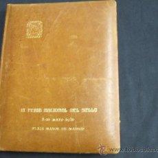 Sellos: ALBUM CONMEMORATIVO IX FERIA NACIONAL DEL SELLO - 1.976 -TIRADA 500 EJEMPLARES NUMERADOS - Nº 333 - . Lote 26437475