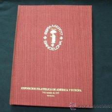 Sellos: ALBUM CONMEMORATIVO ESPAMER 77 -TIRADA 1.000 EJEMPLARES NUMERADOS - Nº 00665 - . Lote 26437476