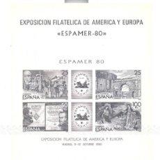 """Sellos: ESPAÑA. EDIFIL 3 """"ESPAMER 80"""". Lote 26412428"""