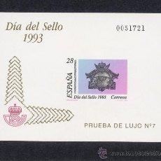 Sellos: PRUEBAS OFICIALES DE LUJO Nº 28 DIA DEL SELLO 1993 . Lote 26440121