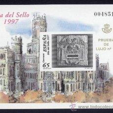 Sellos: PRUEBAS OFICIALES DE LUJO Nº 62 DIA DEL SELLO 1997 . Lote 26440328
