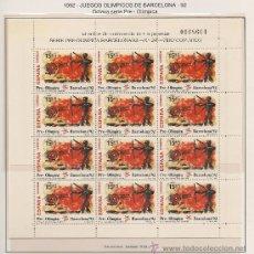 Briefmarken - TRES MINIPLIEGOS BARCELONA´92. VIII SERIE PRE-OLÍMPICA - 26497824