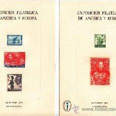 Sellos: HOJA RECUERDO 53/4 EXP. FIL. AMERICA EUROPA ESPAMER 77, DESCUBRIMIENTO, COLON + . Lote 132931435