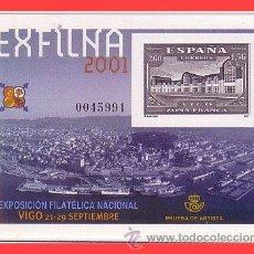 Sellos: PRUEBAS OFICIALES 2001 EXFILNA 2001 VIGO EDIFIL Nº 75 (*). Lote 31637766