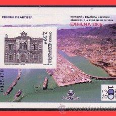 Sellos: PRUEBAS OFICIALES 2006 EXFILNA 2006 ALGECIRAS, EDIFIL Nº 92 (*). Lote 31637900