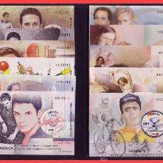 Sellos: 2000 EXPOSICIÓN MUNDIAL DE FILATELIA EDIFIL Nº 3756S A 3766S (*). Lote 31638404