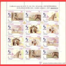 Sellos: MINIPLIEGO 2000 EXPOSICIÓN MUNDIAL DE FILATELIA ESPAÑA´2000, EDIFIL Nº 69 * *. Lote 145379177